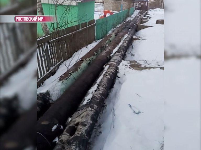 «Первый Ярославский» помог жителям поселка Семибратово разрешить коммунальную проблему