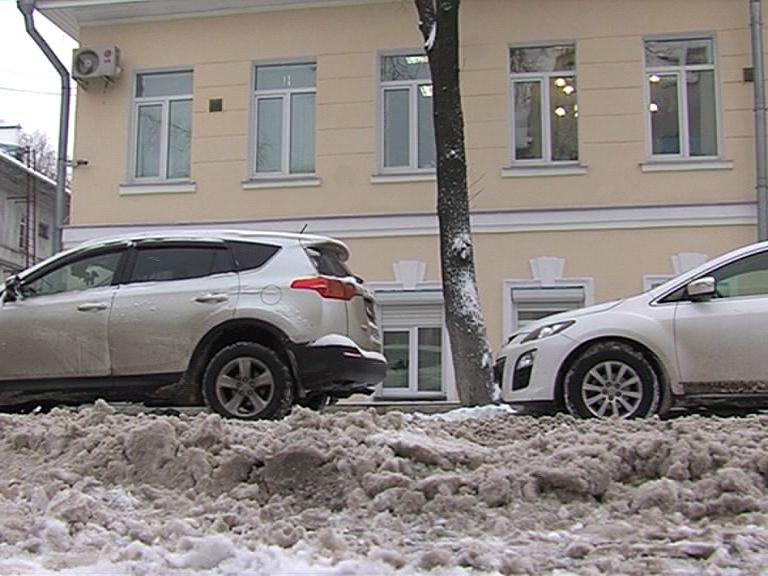 Ярославль вновь утопает в снегу