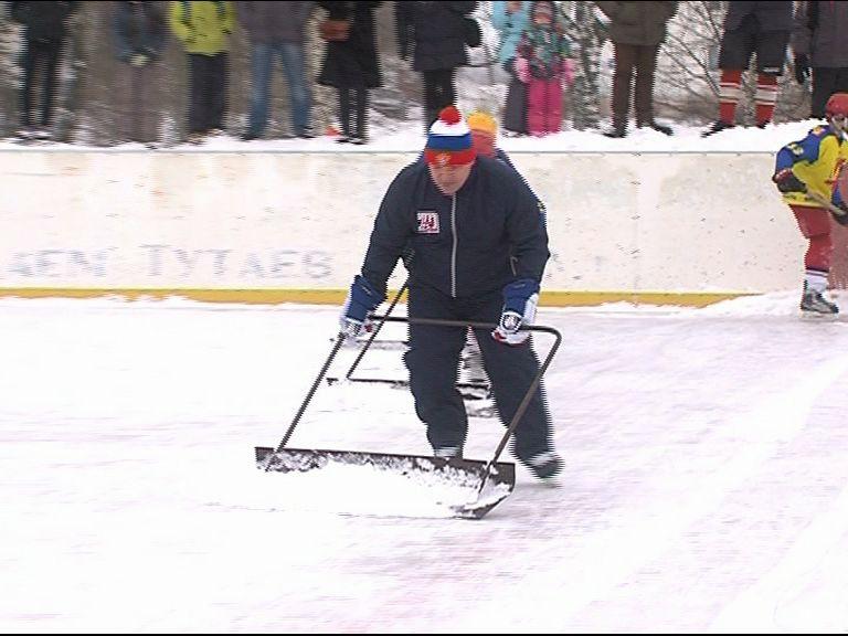 Андрей Коваленко провел мастер-класс на льду для воспитанников тутаевской спортивной школы