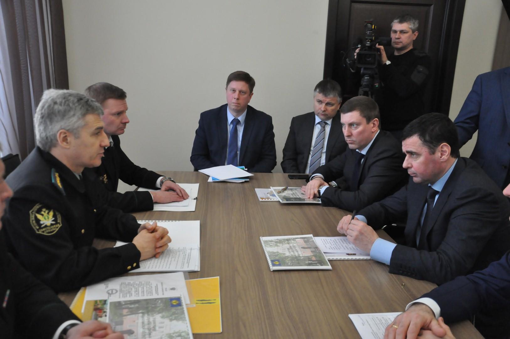 Дмитрий Миронов встретился с руководителем Федеральной службы судебных приставов