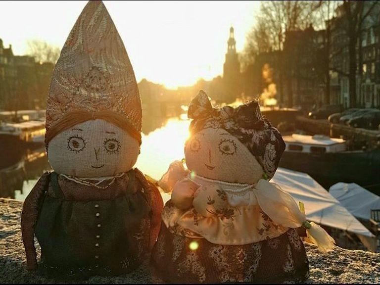 Ярославские купчихи покоряют Амстердам