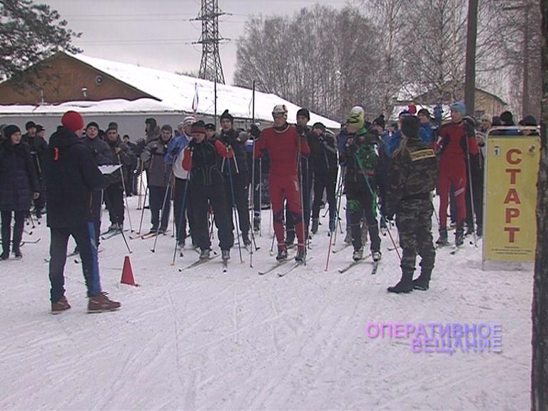 В Яковлеском бору прошел лыжный кросс, организованный представителями областного УВД