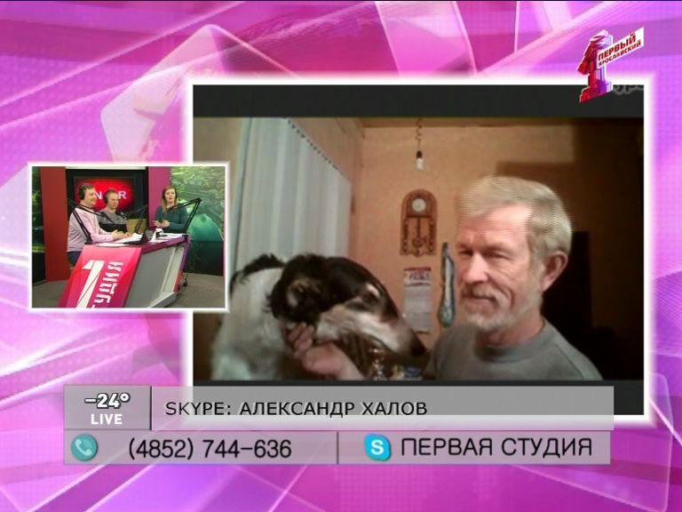 Александр Халов - о победе в бегах борзых