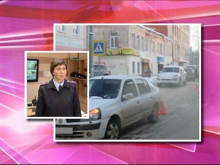 В Рыбинске под колеса автомобиля попала молодая девушка