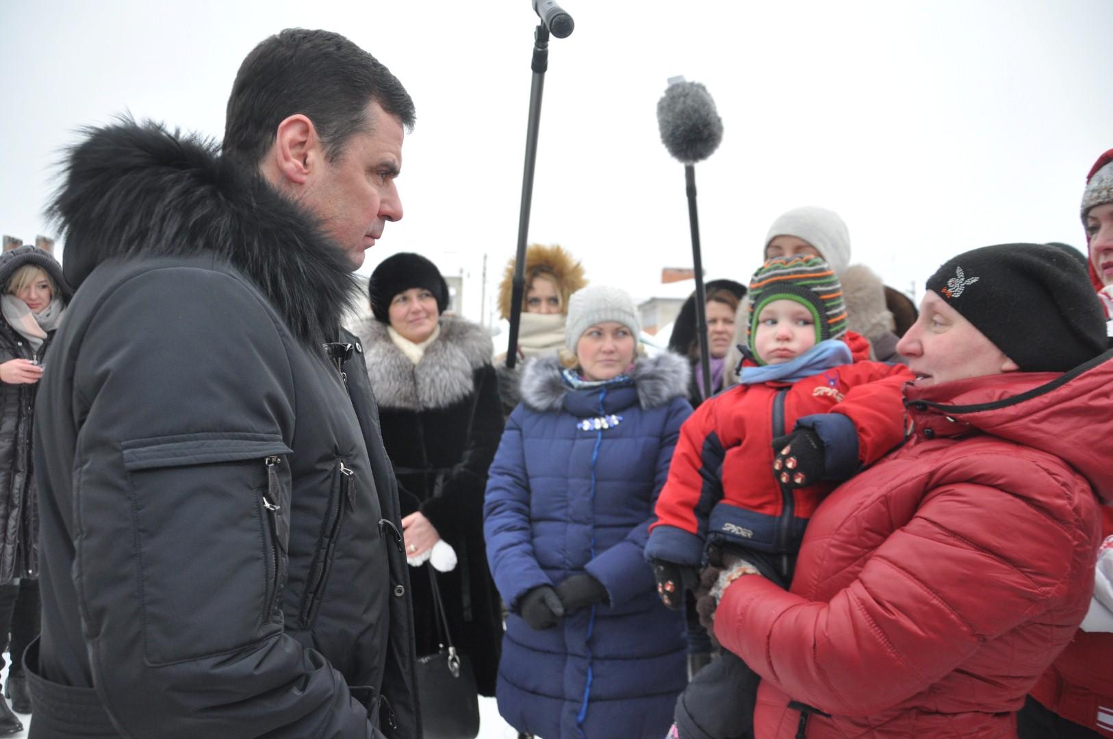 Дмитрий Миронов с рабочим визитом находится в Пошехонском районе
