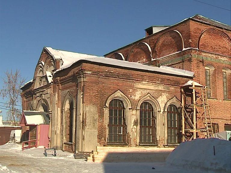 В Ярославле возрождают храмы Крестовоздвиженского прихода