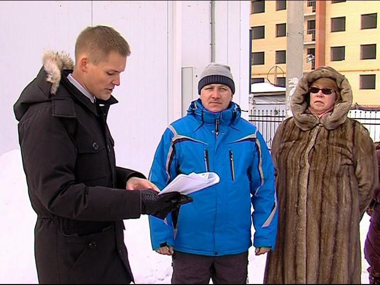 Александр Грибов встретился с обманутыми дольщиками