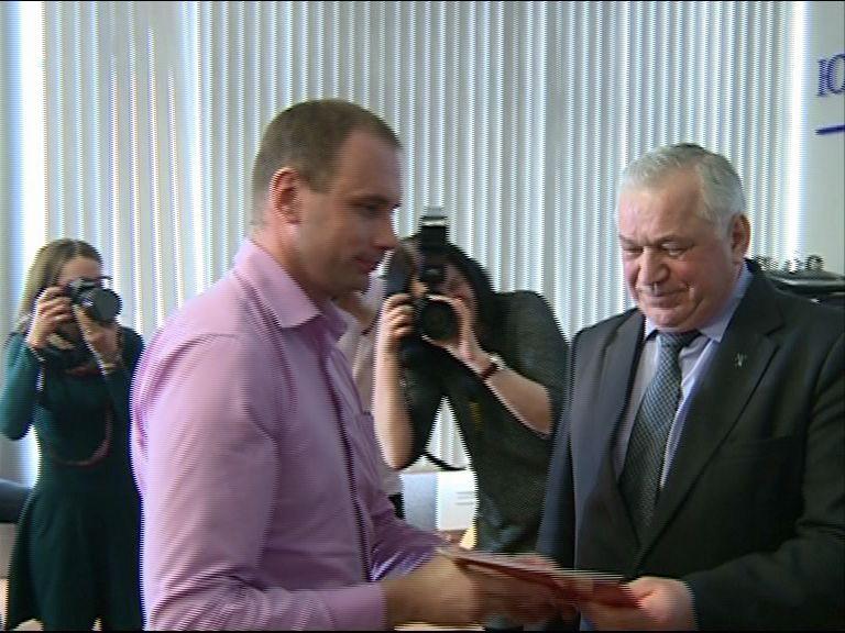 Корреспондентов «Первого Ярославского» наградили депутаты облдумы и полиция