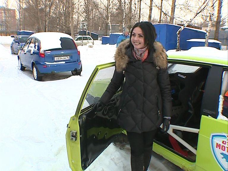 Ярославская гонщица дебютировала в роли пилота на ралли