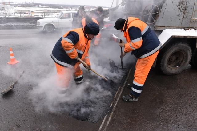 В Ярославле начался ямочный ремонт