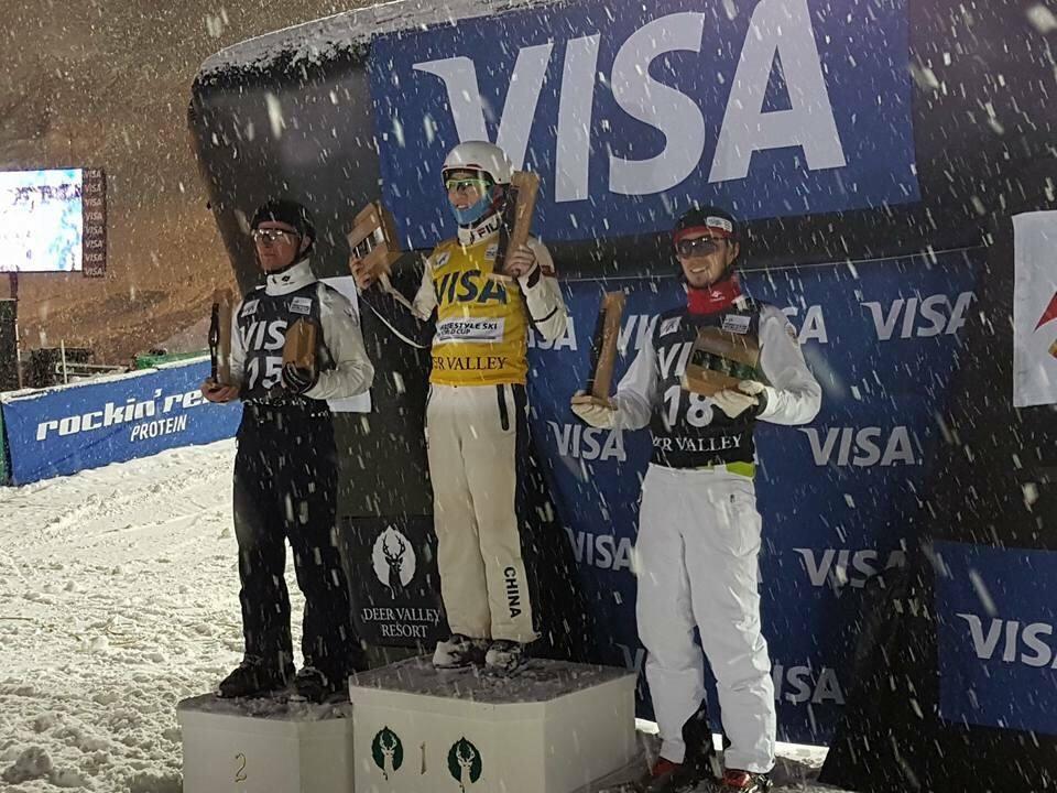 Станислав Никитин завоевал бронзовую медаль на этапе Кубка мира по фристайлу