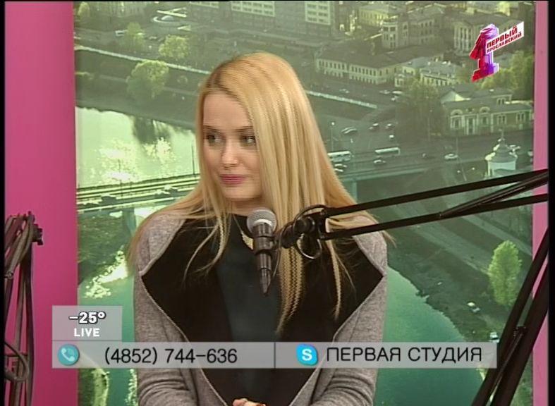 Самое медийное лицо «Первой студии»: Дарья Смирнова!