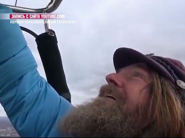 Федор Конюхов пролетел уже более 400 километров