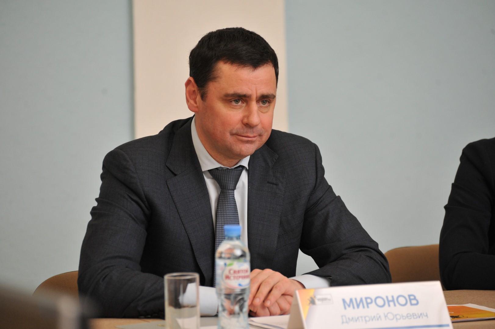 «10 точек роста Ярославской области»: Дмитрий Миронов поддержал проект «Школа будущих профессий»