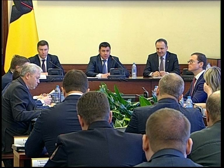 Заседание правительства Ярославской области от 8.02.2017