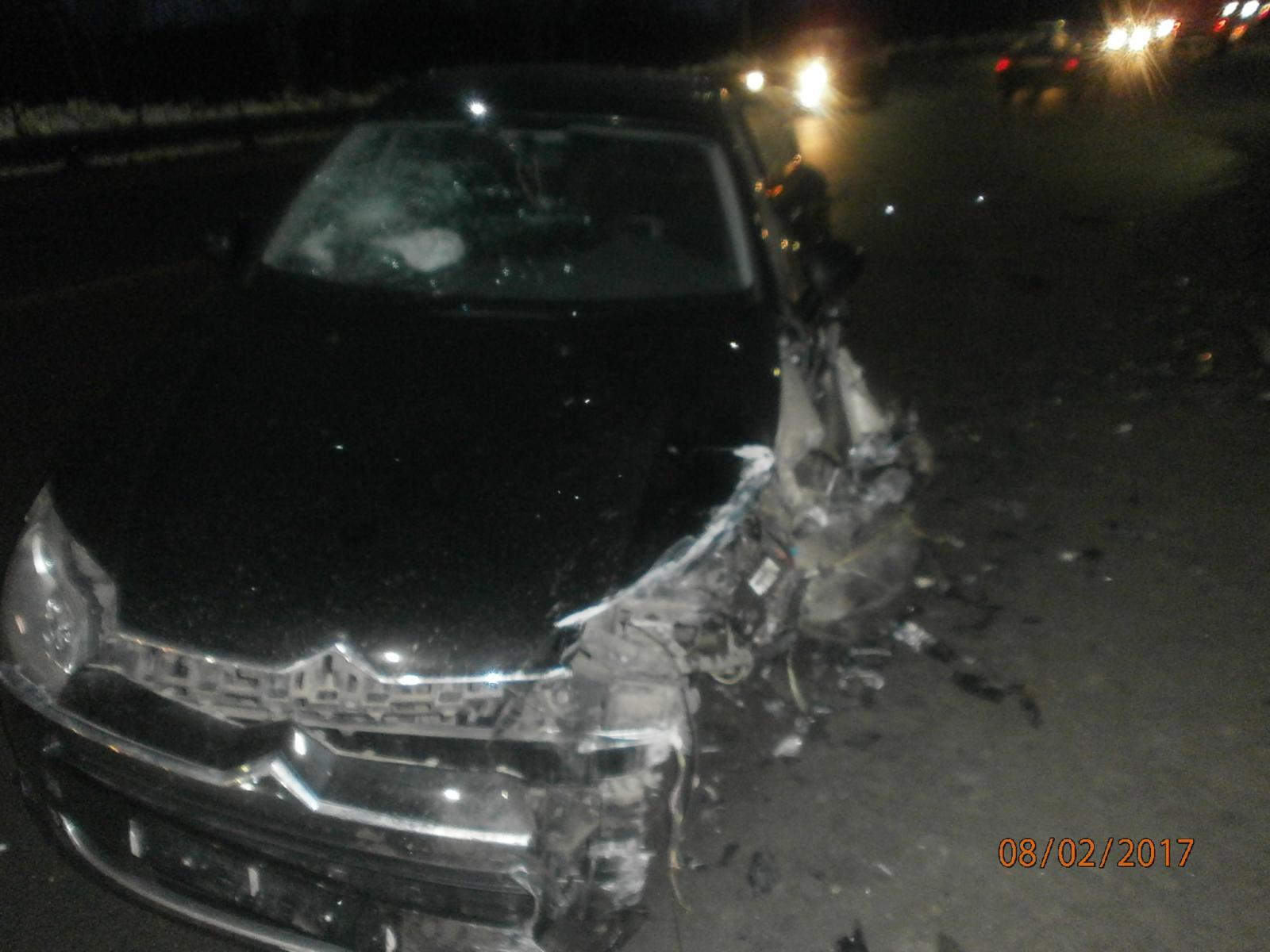 За минувшие сутки в области произошло несколько аварий