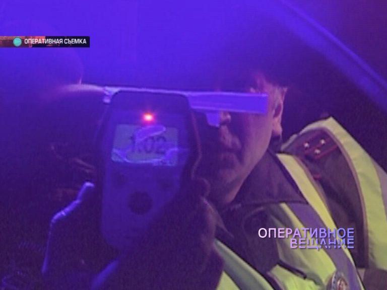 Все выходные на областных дорогах ловили пьяных водителей