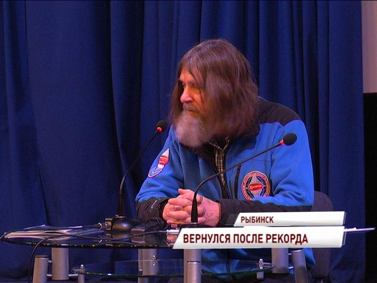 Федор Конюхов отправится в кругосветку из Рыбинска