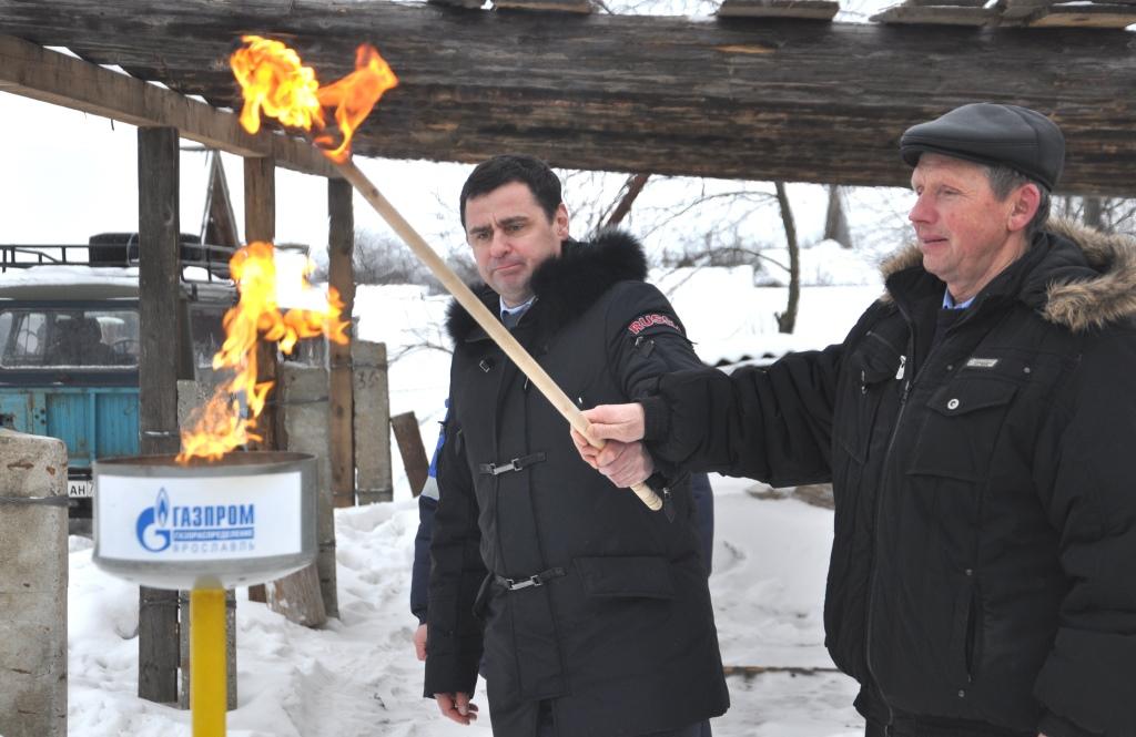 Благодаря усилиям Дмитрия Миронова «Газпром» возобновляет инвестиции в Ярославскую область