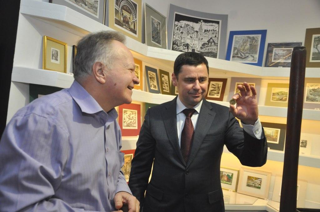 Дмитрий Миронов в «Вятском» отчеканил монету