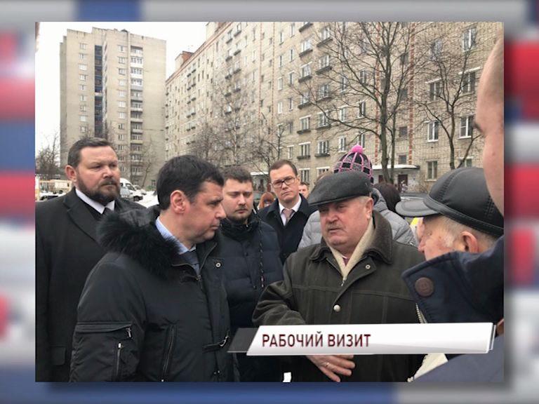 Дмитрий Миронов с рабочим визитом находится в Рыбинске