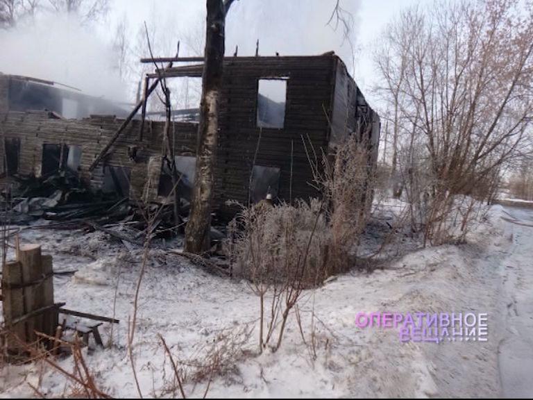 В Любиме в огне погибли два человека