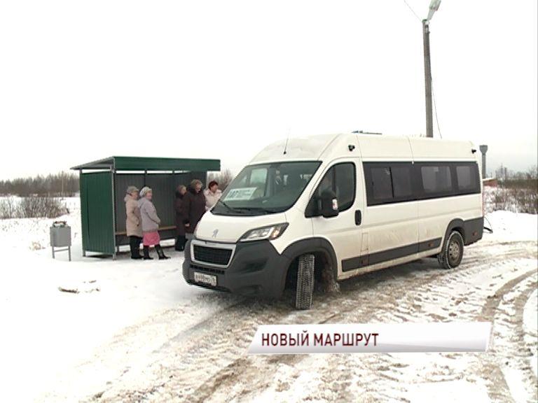 До Сабельниц теперь пустят автобусный маршрут