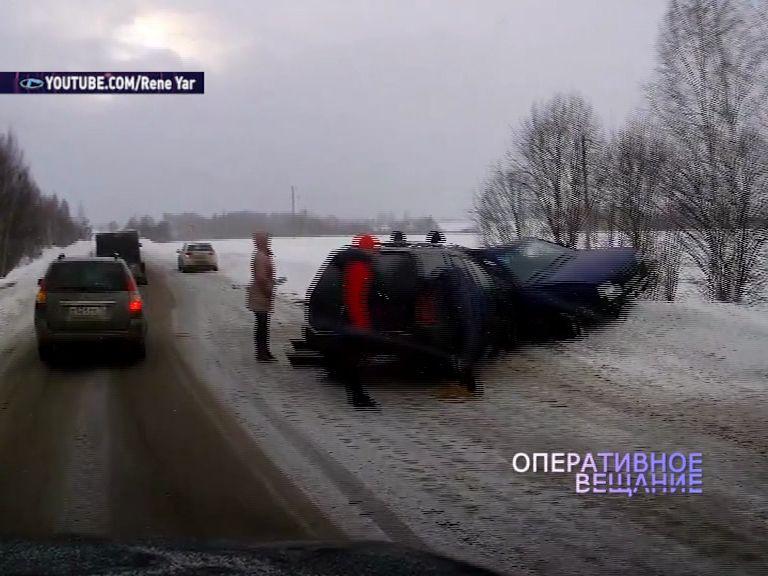 В регионе длительные праздники омрачились чередой автомобильных аварий
