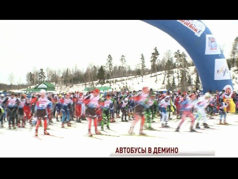 Из Ярославля и Рыбинска на Деминский марафон пустят дополнительные автобусы