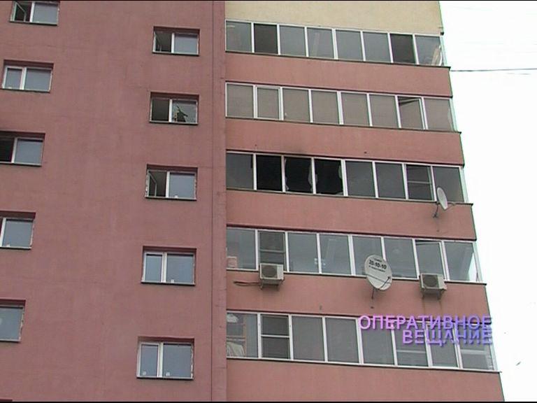 В жилом доме на Фрунзе вспыхнул пожар