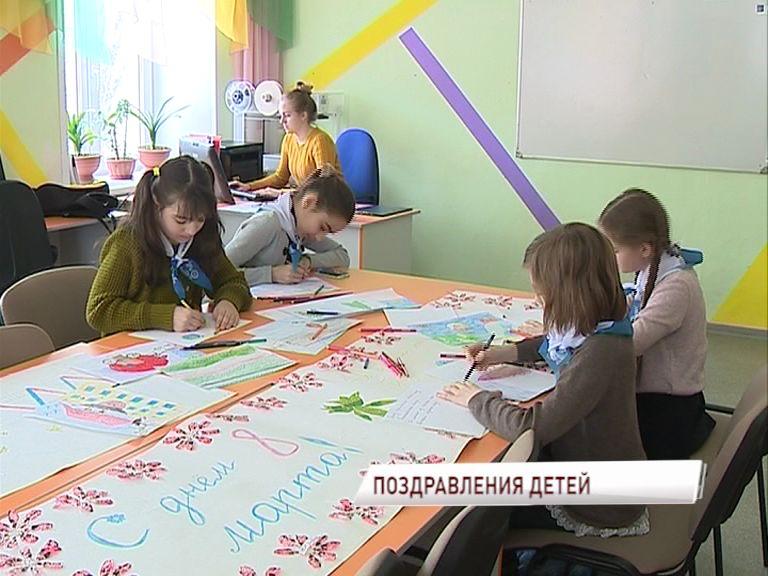 Дети со всей области мастерили подарки для Валентины Терешковой