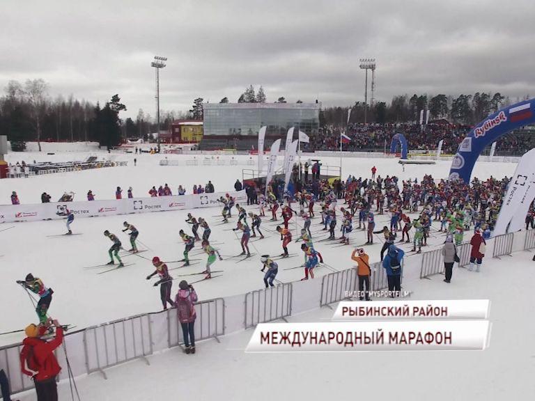 В Демино завершился десятый международный лыжный марафон