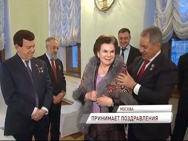 Валентина Терешкова продолжает получать поздравления