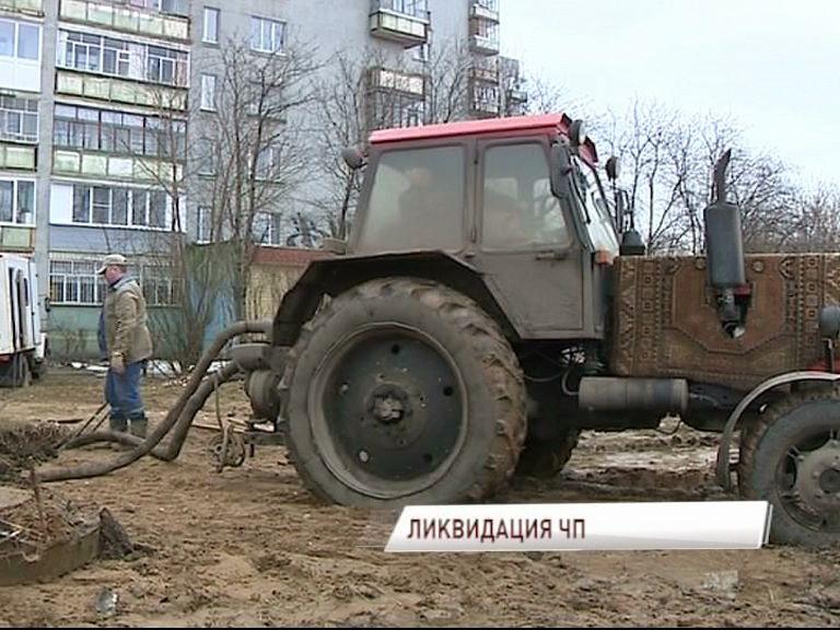 Потоп в Северном жилом районе Ярославле устранили