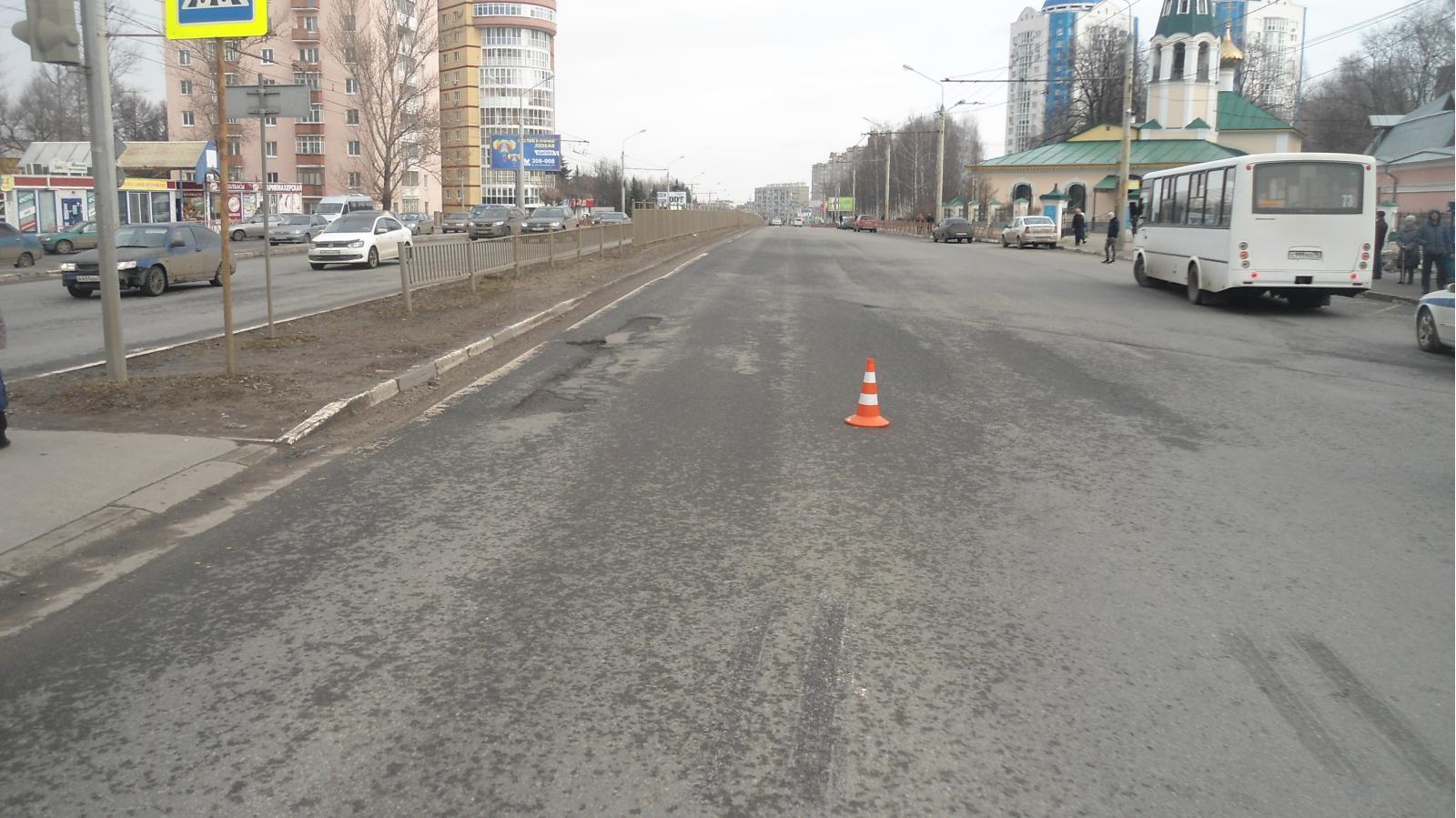 На Московском проспекте маршрутка сбила пенсионерку