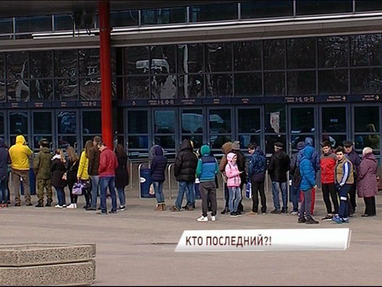 Ярославцы штурмуют кассы, чтобы попасть на игры «Локомотива»