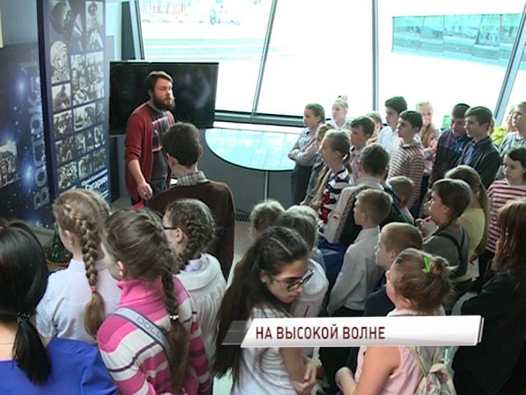 Многодетные семьи из Тутаевского района бесплатно посетили Ярославский планетарий
