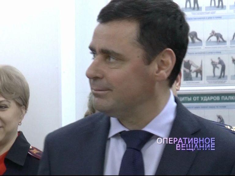 Дмитрий Миронов посетил восстановленный стрелковый комплекс ярославской полиции