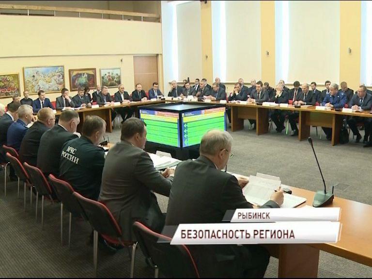 Дмитрий Миронов провел в Рыбинске выездное заседание антитеррористической комиссии