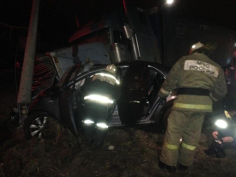 ЭКСКЛЮЗИВ: «Первый Ярославский» публикует видео смертельной аварии на окружной дороге