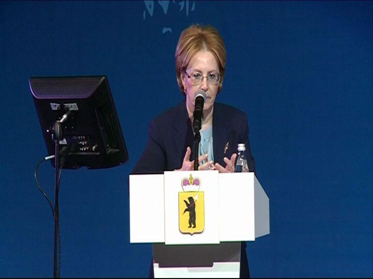 Министр здравоохранения РФ Вероника Скворцова: Результаты Ярославской области вдохновляют