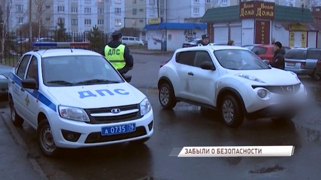 Сотрудники Госавтоинспекции выявляли водителей, перевозящих детей без специальных кресел