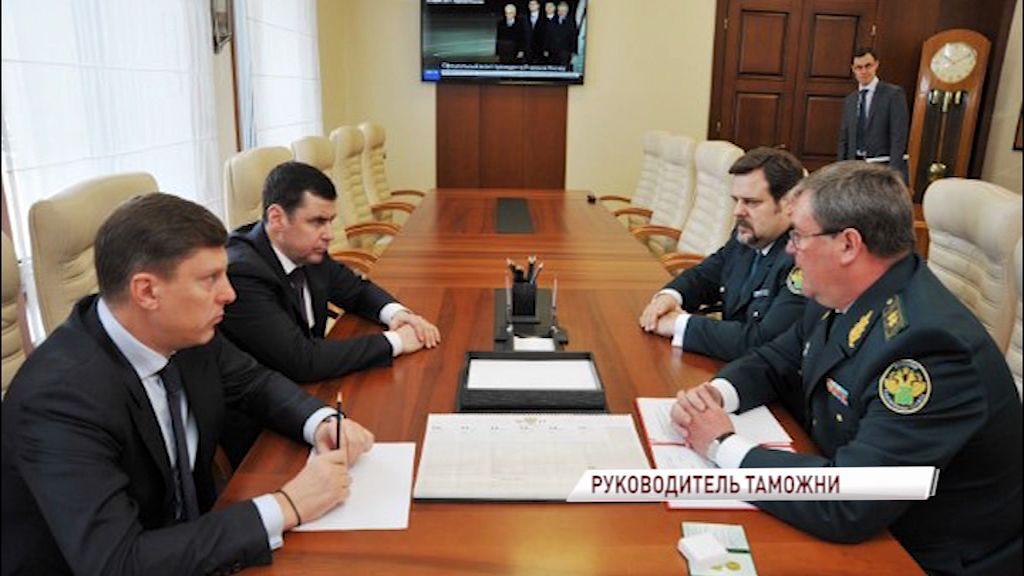 Новым начальником Ярославской таможни назначен Василий Ермолин