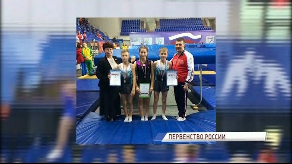 Ярославцы стали призерами командного первенства России по прыжкам на батуте