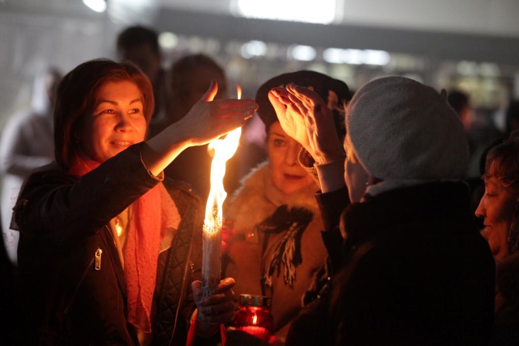 27 тысяч жителей Ярославской области приняли участие в Пасхальных богослужениях