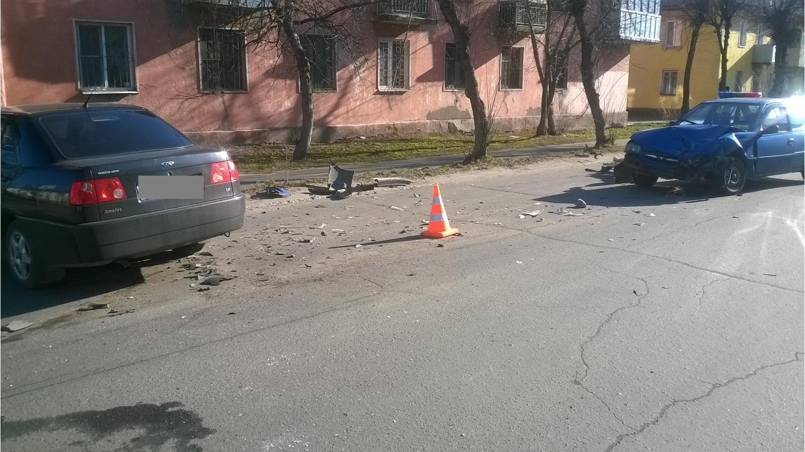 В Рыбинске пьяный водитель спровоцировал ДТП