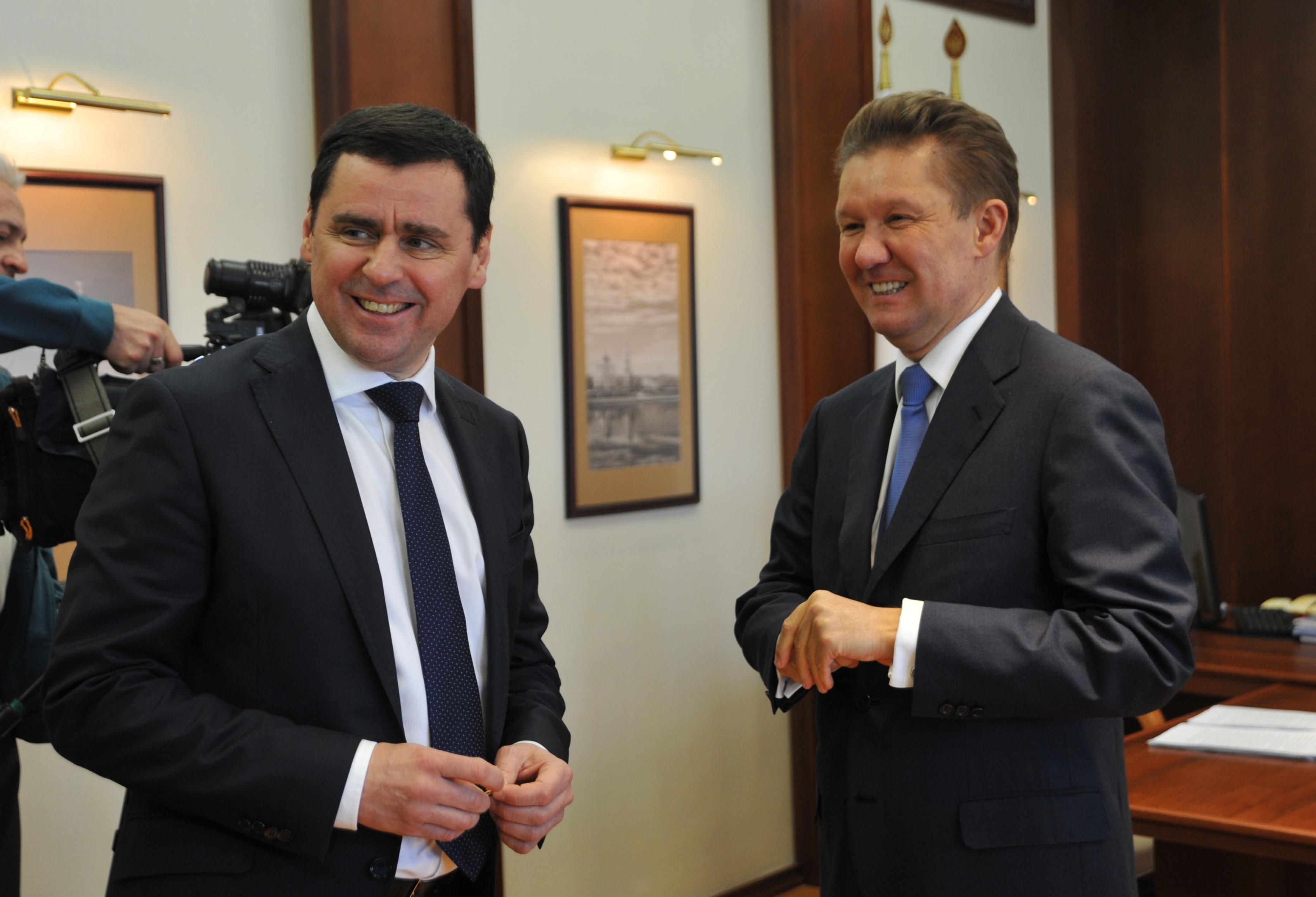 Глава «Газпрома» Алексей Миллер в Ярославле: инвестиции на 3,3 млрд, строительство завода в Большесельском районе и 25 физкультурно-спортивных объектов