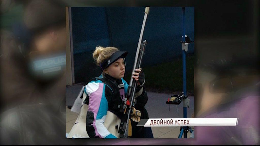 Анастасия Галашина взяла два «золота» на соревнованиях в Краснодаре