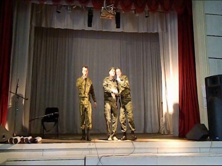 Ярославская группа выступила на Донбассе перед военнослужащими