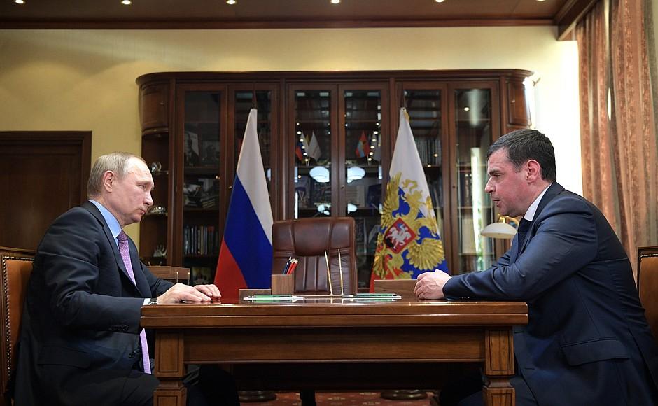 Владимир Путин поддержал решение Дмитрия Миронова идти на выборы губернатора Ярославской области